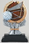 Volleyball Impact Series Resin Trophies