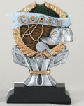 Coach Impact Series Resin Trophies