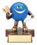 Little Buddy -Bowler Resin Trophies