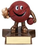 Little Buddy Basketball Resin Trophies