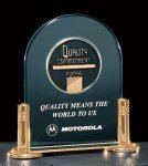 Jade Acrylic Award with Medallion Sales Awards