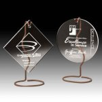 Wired Hanging Acrylic Awards Sales Awards