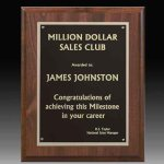 Classic Double Plated Plaque Sales Awards