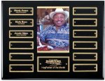 Ebony Finish Perpetual Plaque Sales Awards