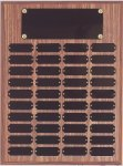 Perpetual Plaque Assembled with Black Plates Sales Awards