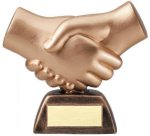Resin Hand Shake Sales Awards