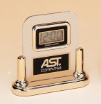 Acrylic Clock With LCD Movement Secretary Gifts