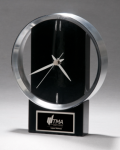 Black and Silver Modern Design Clock Secretary Gifts