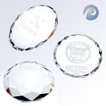 Oval/ Round/ Octagon Paper Weight Secretary Gifts