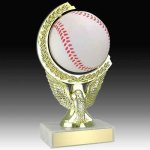 Baseball Spinning Trophy Small Trophies