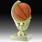 Basketball Spinning Trophy Small Trophies