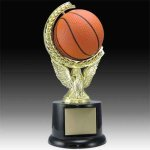 Basketball Spinning and Sqeezable Trophy Small Trophies
