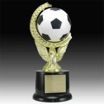 Soccer Spinning and Sqeezable Trophy Small Trophies