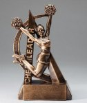 Ultra Action Resin Trophy -Cheerleading  Small Trophies
