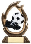 Flame Series Soccer Soccer Trophies Awards