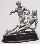 Soccer Double Action Soccer Trophies Awards