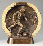 Resin Plate -Soccer Male  Soccer Trophies Awards