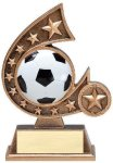 Resin Comet Series -Soccer Soccer Trophies Awards