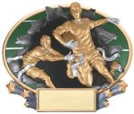 3D Full Color Award -Flag Football Sport Series