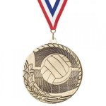 Value Line Volleyball Medal Value Medals