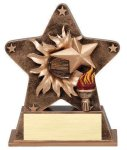 Star Burst Resin -Victory Victory Trophy Awards
