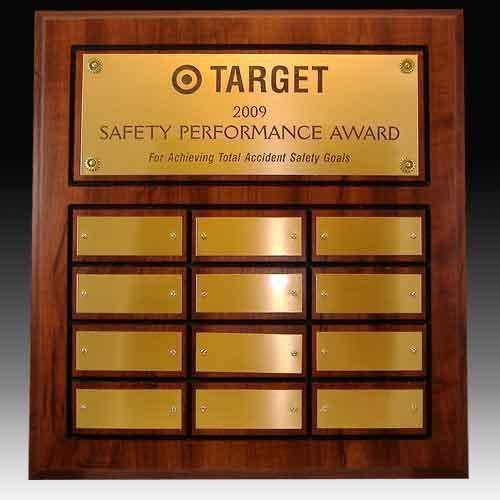 12 Plate Perpetual Plaques