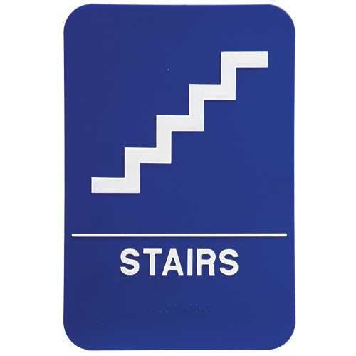 ada stairs sign ada signs ada no stairs sign measuring