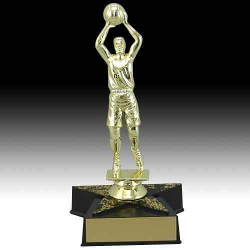 Star Base Basketball Trophy Trophies