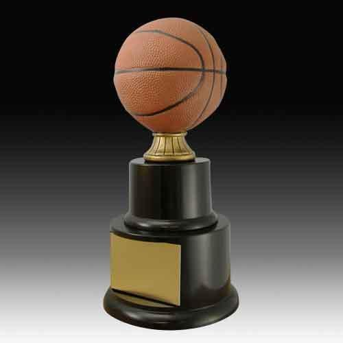 Color Mini Two Tier Basketball Trophies