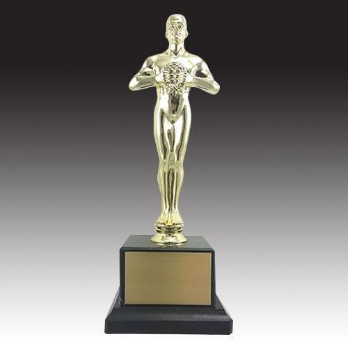 OSCAR STYLE ACHIEVEMENT TROPHY with FREE Engraving